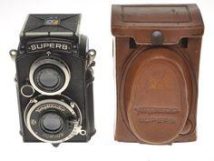 Voigtlander Superb biottica per film 120 anni '30 con Skopar 75/3.5 bella in Fotografia e video, Vintage, Fotocamere vintage | eBay