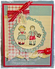 Greeting Card Kids | Stampin' Buzz