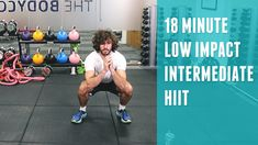 18 Minute Low Impact Intermediate HIIT | The Body Coach