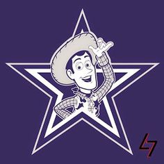 Woody the Dallas Cowboy : Disney characters as NFL logos Dallas Cowboys Football, Nfl Football Helmets, Football Boys, Football Awards, Cowboys Vs, Football Humor, Sheriff Woody, Broncos, American Football