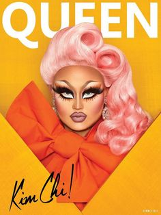 Kim Chi on the cover of QUEEN Magazine