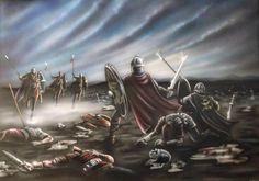 The Battle of Camlann, 540 AD by Jason Pope (http://popius.deviantart.com/)