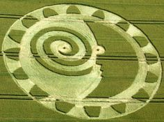 The Most Astonishing Crop Circle Artworks of 2014 Hackpen Hill, near Winterbourne Bassett, Wiltshire, United Kingdom, July 2014