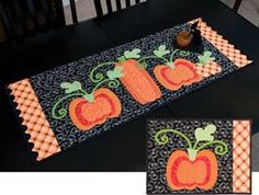 PUMPKIN HARVEST TABLE TOPPERS KIT