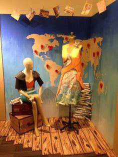 Visual display world traveler