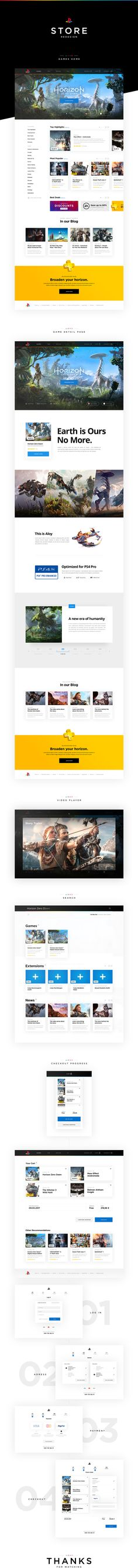 PlayStation Store Redesign