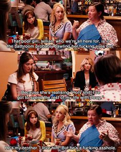 lets-go-to-the-movies - Posts tagged Bridesmaids Bridesmaids Movie Quotes, Bridesmaids 2011, Bridesmaid Ideas, Funny Movies, Great Movies, Love Movie, Movie Tv, 2011 Movies, Favorite Movie Quotes