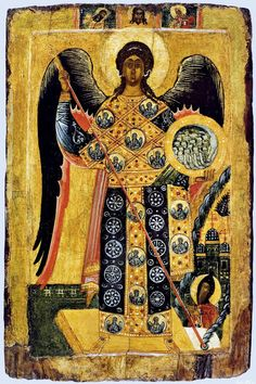 St. Michael and Miracle in Chonae Whispers of an Immortalist: Icons of the Holy Angels 1