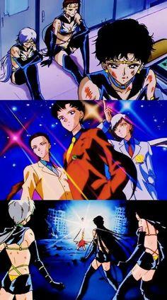Three lights sailor star light