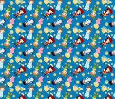 Peterpan fabric by pink+posh on Spoonflower - custom fabric