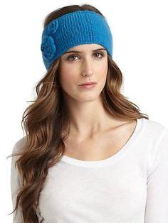 Knit Headband $26.0 by Saks Fifth Avenue