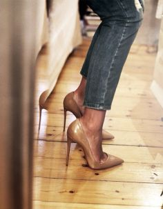 WHEN HARRY MET SALLY #SHOES #JEANS
