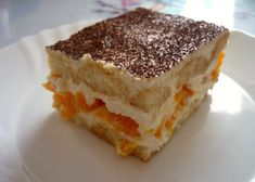 Recept Tiramisu s mandarinkami Czech Recipes, Ethnic Recipes, Austrian Desserts, Keks Dessert, Sweet Bakery, Sweet And Salty, Sweet Desserts, Party Cakes, Cake Cookies