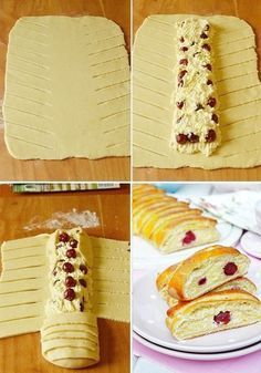 Hungarian Desserts, Hungarian Recipes, Canned Pumpkin Pie Filling, Cake Recipes, Dessert Recipes, Bread Dough Recipe, Bread Shaping, Twisted Recipes, Puff Pastry Recipes