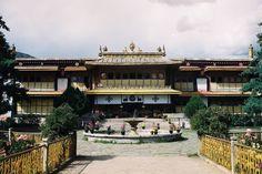 Norbulingka Lhasa. The traditional summer palace of the Dalai Lama.  #film #Lhasa #Tibet #craigfergusonimages