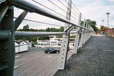 Balloch Bridge Tensioned Cable Balustrade