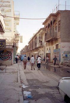 Al mutannabi street bagdad, iraq