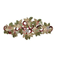 Deck The Halls Runner Red/Green/Gold | Gracious Style
