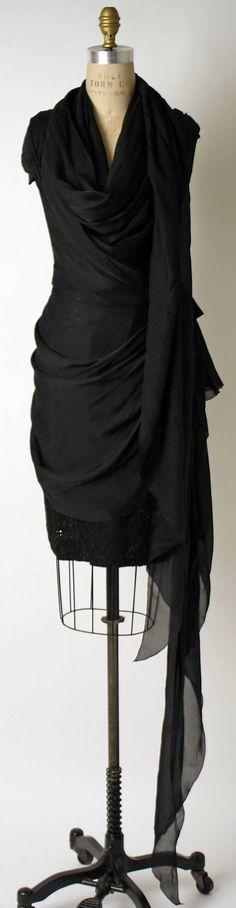 1980s Emanuel Ungaro Evening dress Metropolitan Museum of Art, NY