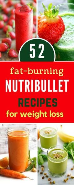 52 Healthy Nutribullet Recipes to Help You Lose Weight. These Low-Calorie Breakfast Smoothies are not only Highly Popular but also Super Easy to Make. Fat Burning Smoothies, Fat Burning Drinks, Weight Loss Smoothies, Easy Diet Plan, Healthy Diet Plans, Healthy Habits, Healthy Tips, Nutribullet Recipes, Smoothie Recipes