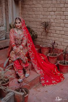 Sikh Bride, Punjabi Bride, Sikh Wedding, Punjabi Wedding, Wedding Outfits For Groom, Indian Wedding Outfits, Wedding Suits, Wedding Attire, Indian Bridal Photos