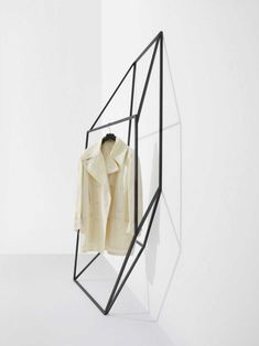 Les Ailes Noires Clothing Racks by Tongtong | http://www.yellowtrace.com.au/two-legged-furniture-and-lighting/