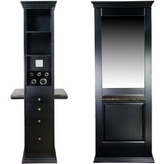 Marilyn Double-Sided Styling Station WS-85BLK
