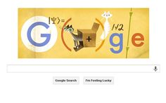 Erwin Schrödinger and his cat celebrated in Google Doodle - Telegraph