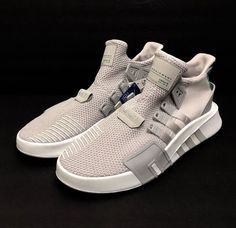 9da11f550a Adidas Originals EQT Bask ADV 91 18 Grey One CQ2995 Equipment Mens Shoes Sz  12