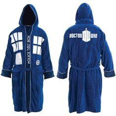 Peignoir Doctor Who Tardis