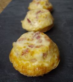 Mini croque-quiches