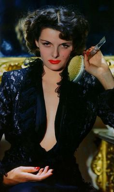 driftin' blues — Jane Russell photographed by George Hurrell c. Old Hollywood Glamour, Golden Age Of Hollywood, Vintage Hollywood, Hollywood Stars, Classic Hollywood, George Hurrell, Jane Russell, Colleen Camp, Catherine Bach