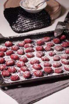 Leckere und gesunde Rote Beete Gnocchi selber machen.