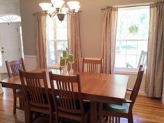 Newly painted Dining Room - Beautiful Lake Home for Sale on Lake James in Morganton NC - 1503 Brentwood Pl, Morganton, NC 28655