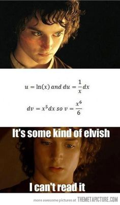 Awkward moment when you've seen this before and thought it was funny and then one day you see it again and realize it makes perfect sense and is no longer in Elvish.