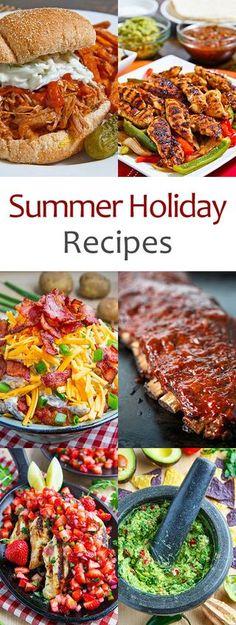 Summer Holiday Recipes