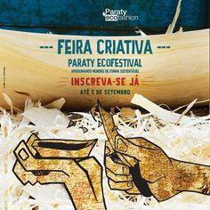 INSCRIÇÕES ABERTAS PARA A FEIRA CRIATIVA 2014 PARATY ECO FESTIVAL - Paraty EcoFashion 16 a 19 de outubro de 2014. Leia o regulamento e faça sua inscrição clicando no link >> http://paratyecofashion.com.br/2012/feira-criativa-2014/  #ParatyEcoFashion #ParatyEcoFestival #InstitutoColibri #EcoFashion #EcoFestival #moda #sustentabilidade #cultura #turismo #festival #Paraty #PousadaDoCareca