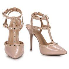 Sapato Scarpin Feminino Lara - Nude                                                                                                                                                                                 Mais