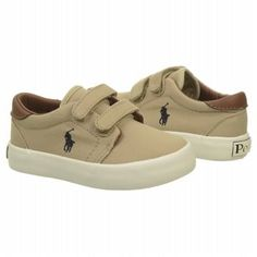 Just perfect for my Nephew!!!  Polo by Ralph Lauren Kids' Olan EZ Toddler Shoe