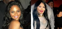 Lil Kim....she was so beautiful before.,..  I just don't get it