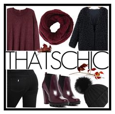 """Thats Chic"" by theajames101 ❤ liked on Polyvore featuring H&M, STELLA McCARTNEY, Black, WithChic, Charles David and BCBGMAXAZRIA"