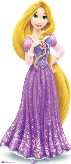 Rapunzel full redesign 2013 - Tied with Belle as my first favorite princess :D