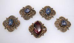 14th c. French jewel settings