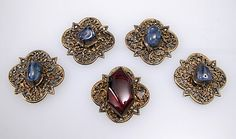 14th c. French jewel settings
