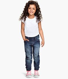 Girl's loose-fit jeans | H&M US