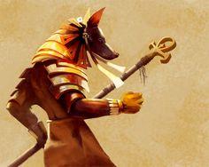 """Es uno de los dioses más antiguos del panteón egipcio y cuenta con varios e inquietantes nombres: """"El señor de la tierra sagrada o de los cemente..."""