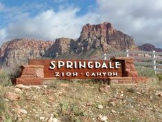 Springdale Utah Official Website ~ The Gateway to Zion National Park!