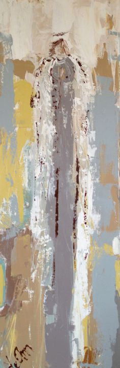 Angel painting by Deann Hebert, Gregg Irby Gallery, Atlanta, GA