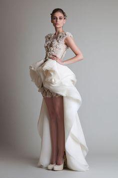 """Krikor Jabotian - Haute couture - """"Closure"""", A-H 2013-2014"""