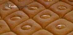 Namoura, gâteau libanais, gateau de semoule | Recette Ramadan Namoura Recipe, Cooking Recipes, Healthy Recipes, Healthy Food, Brookies, Delicious Deserts, Lebanese Recipes, Cream Cake, Waffles